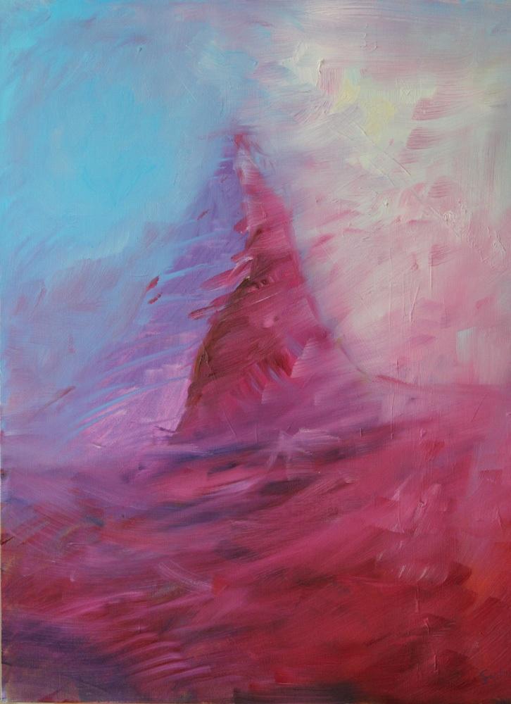 Matterhorn, Öl auf Leinwand, 60 x 50 cm.