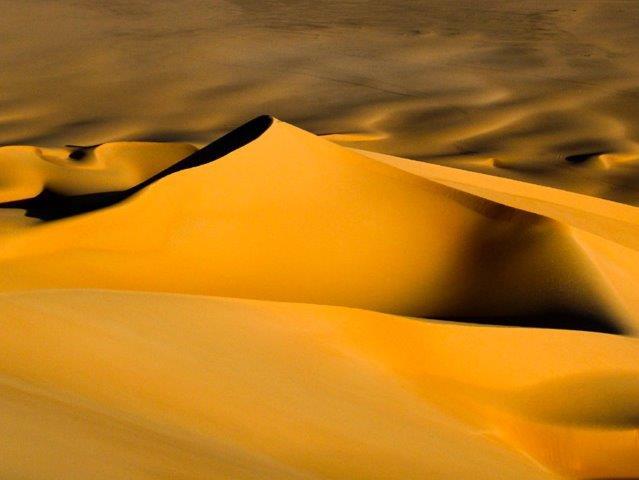 Dünen in der Krabbenschere Niger