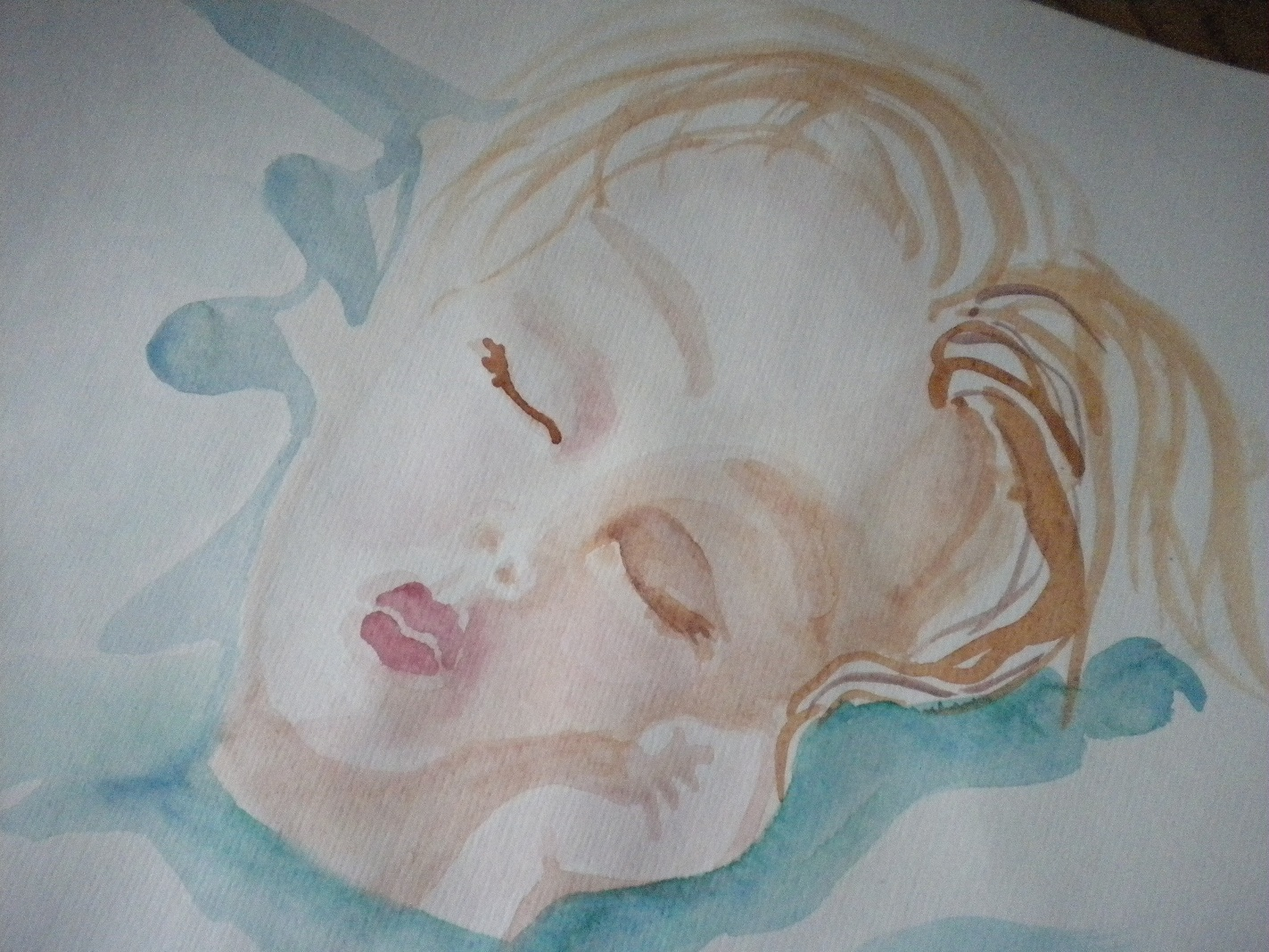 Schlafendes Mädchen (Titelblatt: Arzt&Praxis)