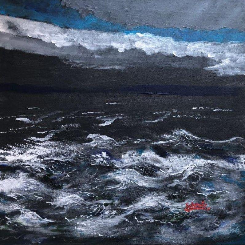 stürmisches Meer
