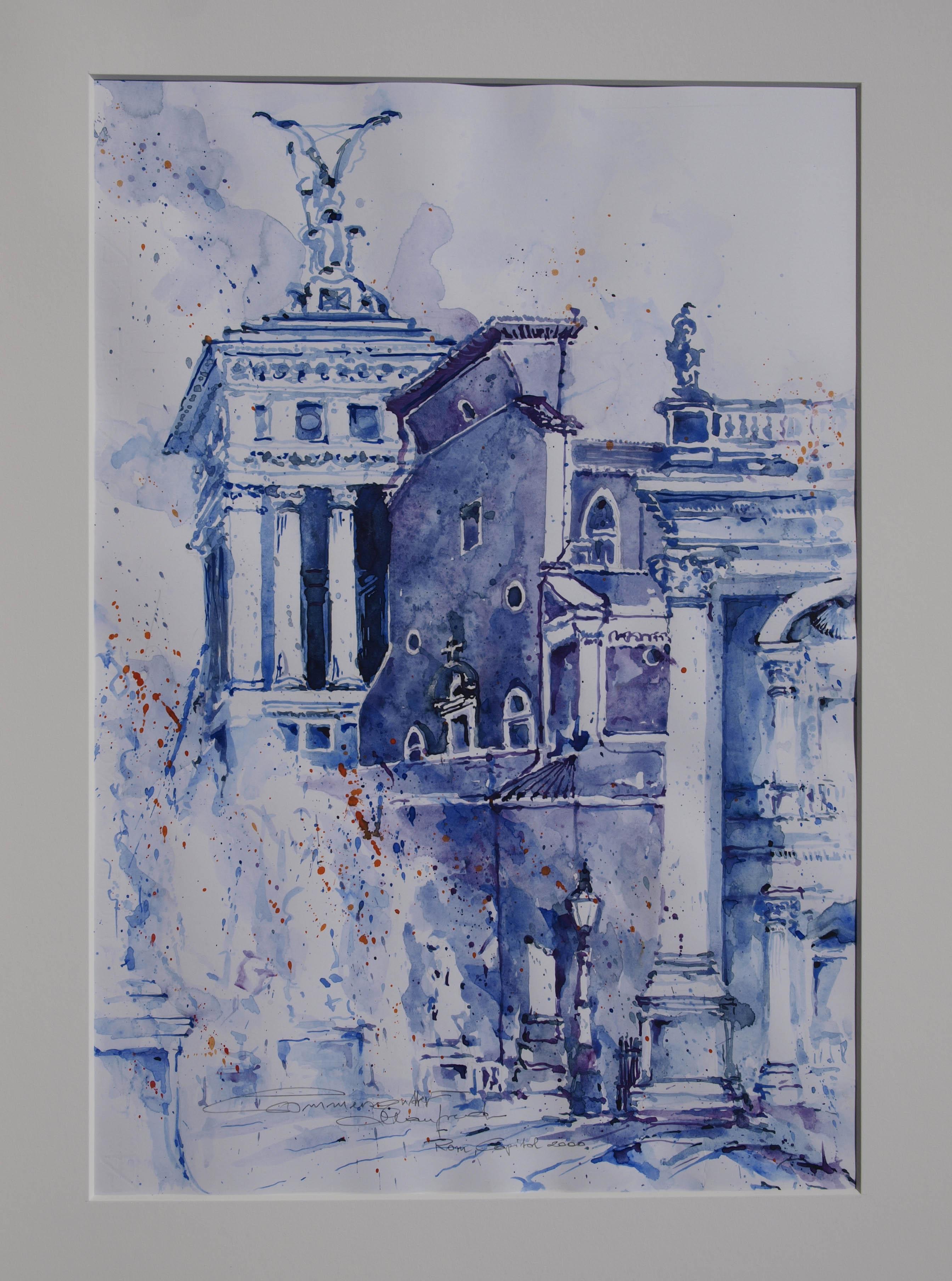 Rom vom Kapitol aus