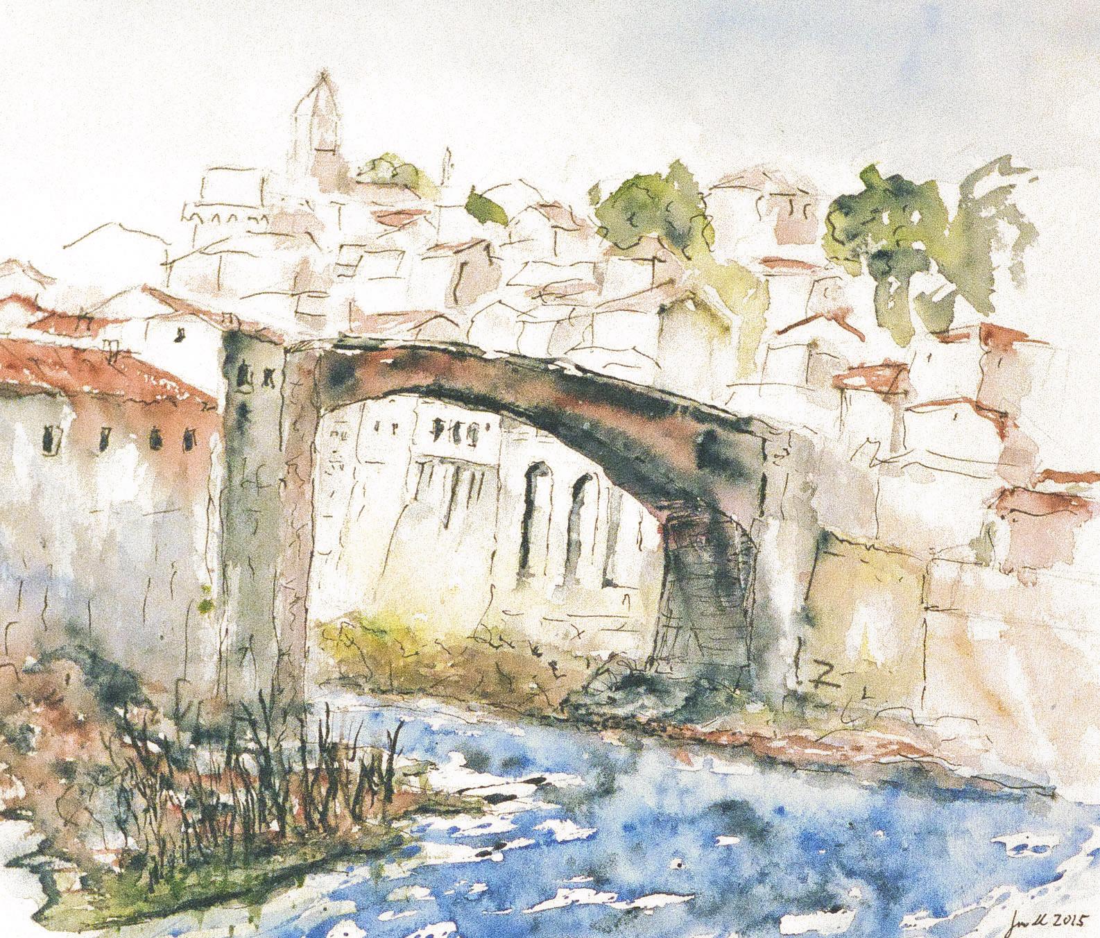 Die Brücke von Pontassieve