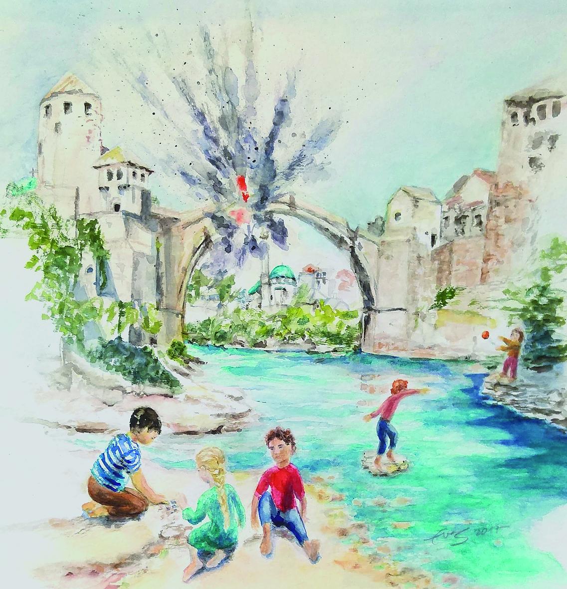 Das Leben geht weiter in Mostar