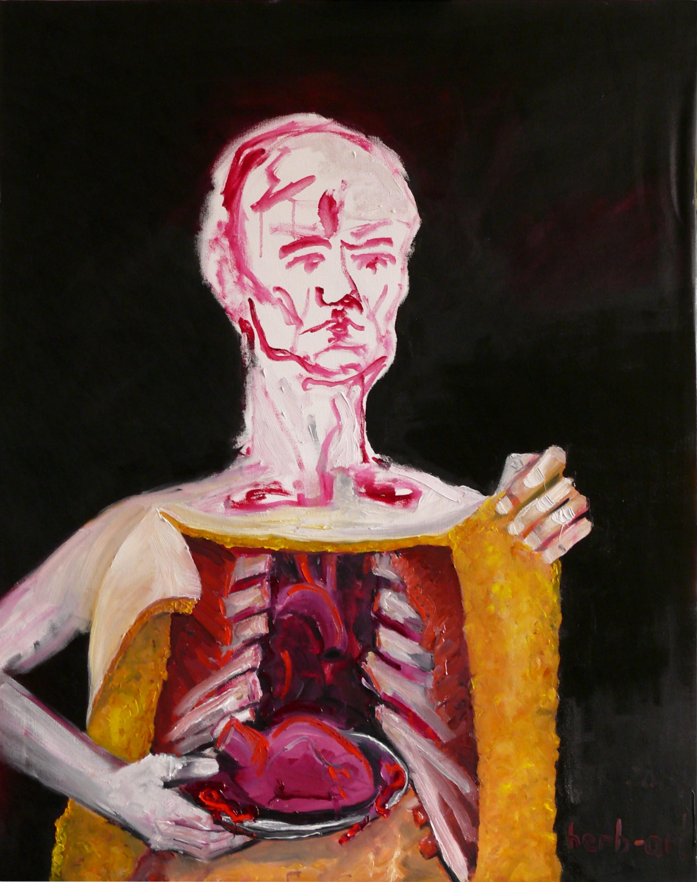 Organspende - Selbstportrait