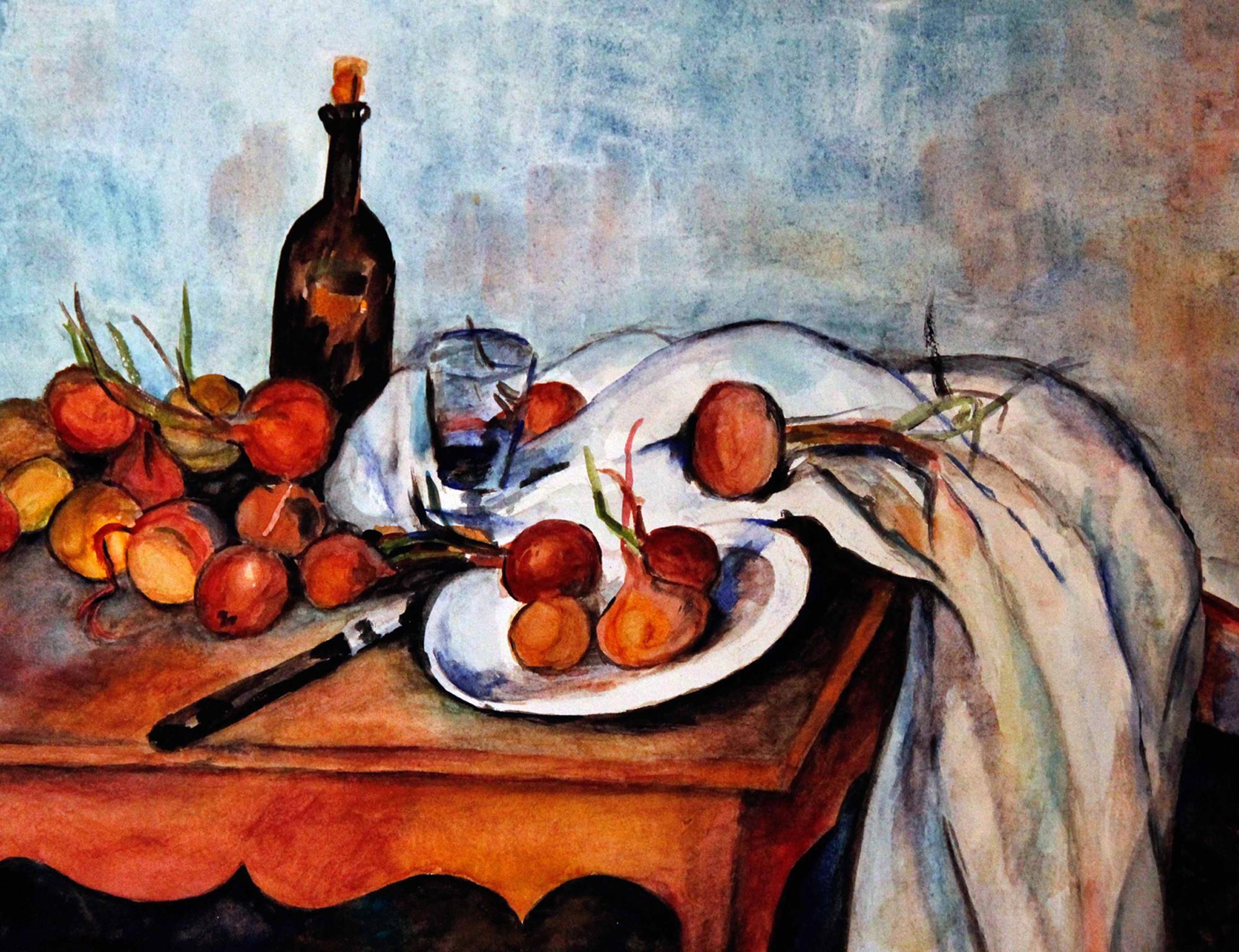 hommage an Cezanne