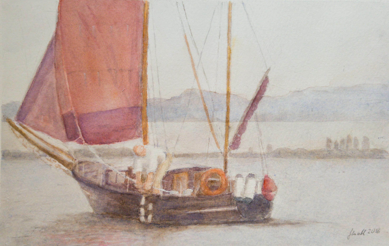 Das Zeesboot Christine