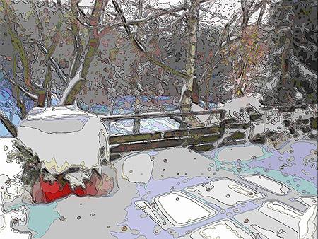 """""""winter"""" Foto / 2006"""