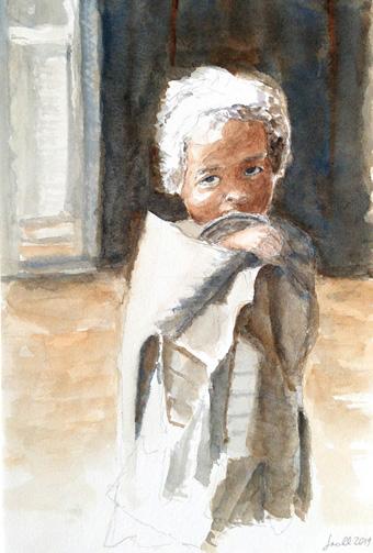 Madegassisches Mädchen